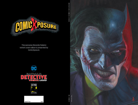 DETECTIVE COMICS #1000 RICCARDO FEDERICI COMICXPOSURE VIRGIN EXCLUSIVE