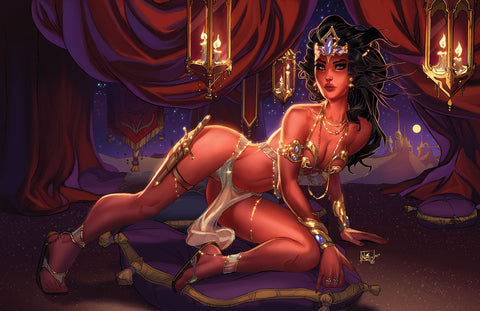 DEJAH THORIS (2019) #1 NEI RUFFINO HORIZONTAL VIRGIN EXCLUSIVE