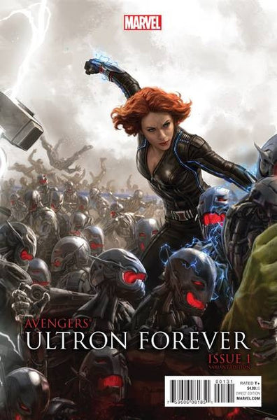 AVENGERS ULTRON FOREVER #1 AU MOVIE CONNECTING B VAR