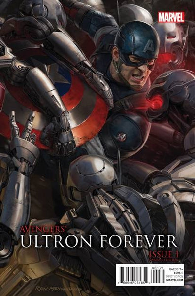 AVENGERS ULTRON FOREVER #1 AU MOVIE CONNECTING C VAR