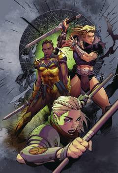 ODYSSEY OF THE AMAZONS #4 (OF 6)