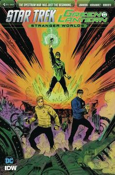 STAR TREK GREEN LANTERN VOL 2 #5 10 COPY INCV