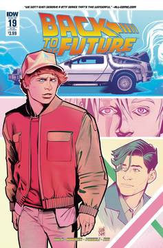 BACK TO THE FUTURE #19 SUBSCRIPTION VAR