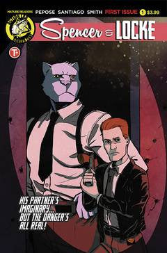 SPENCER AND LOCKE #1 (OF 4) CVR A SANTIAGO JR (MR)