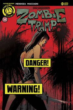 ZOMBIE TRAMP ONGOING #34 CVR D MACCAGNI RISQUE (MR)