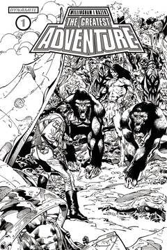 GREATEST ADVENTURE #1 CVR D 10 COPY CASTRO B&W INCV