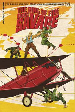 DOC SAVAGE RING OF FIRE #2 (OF 4) CVR A SCHOONOVER