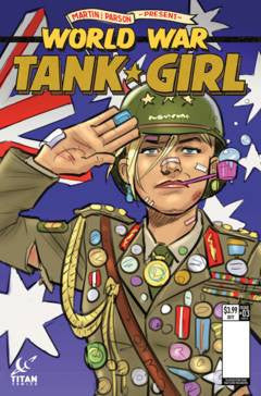 TANK GIRL WORLD WAR TANK GIRL #3 (OF 4) CVR B WYALL (MR)