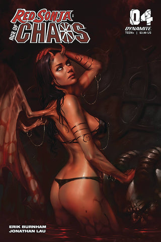 RED SONJA AGE OF CHAOS #4 CVR A PARRILLO