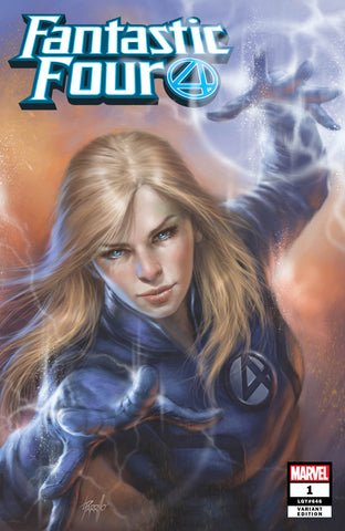FANTASTIC FOUR #1 COMICXPOSURE LUCIO PARRILLO HERO VARIANT