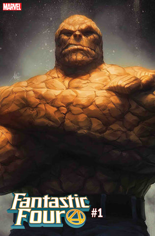 FANTASTIC FOUR #1 ARTGERM THING VAR