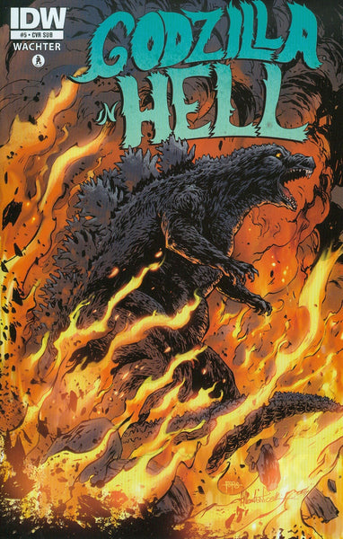 GODZILLA IN HELL #5 (OF 5) SUBSCRIPTION VAR