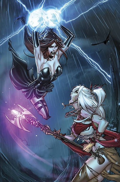 GRIMM FAIRY TALES PRESENTS COVEN #5 (OF 5) D