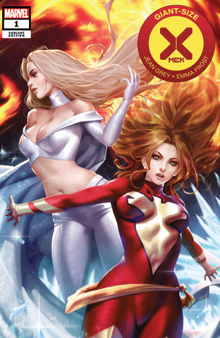 GIANT SIZE X-MEN JEAN GREY & EMMA FROST #1 DX DERRICK CHEW EXCLUSIVE