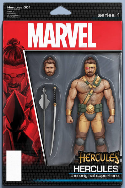 HERCULES #1 CHRISTOPHER ACTION FIGURE VAR