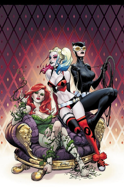 HARLEY QUINN VOL 3 #1 HERO UNIVERSITY JOE BENITEZ COLOR VARIANT