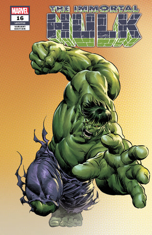 IMMORTAL HULK #16 MIKE DEODATO COMICXPOSURE LIMITED EDITION
