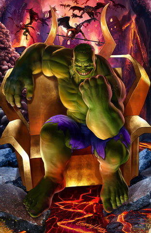 IMMORTAL HULK #20 GREG HORN VIRGIN COMICXPOSURE EXCLUSIVE