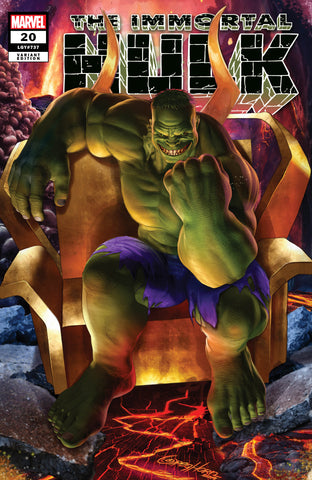 IMMORTAL HULK #20 GREG HORN COMICXPOSURE EXCLUSIVE