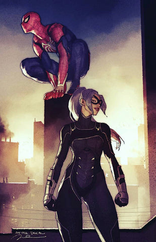 SPIDER-MAN CITY AT WAR #1 (OF 6) GERALD PAREL EXCLUSIVE 2 PACK