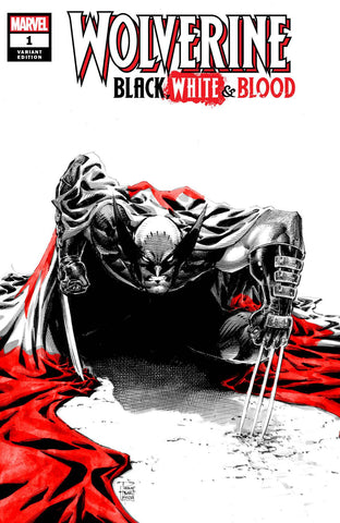 WOLVERINE BLACK WHITE BLOOD #1 PHILIP TAN EXCLUSIVE
