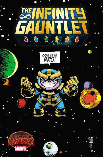 INFINITY GAUNTLET #1 YOUNG VARIANT