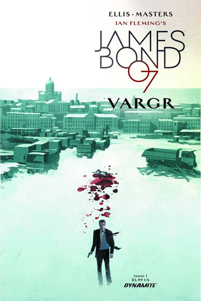 JAMES BOND #1 CVR A REARDON