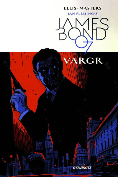 JAMES BOND #1 CVR C 10 COPY FRANCAVILLA UNIQUE INCV