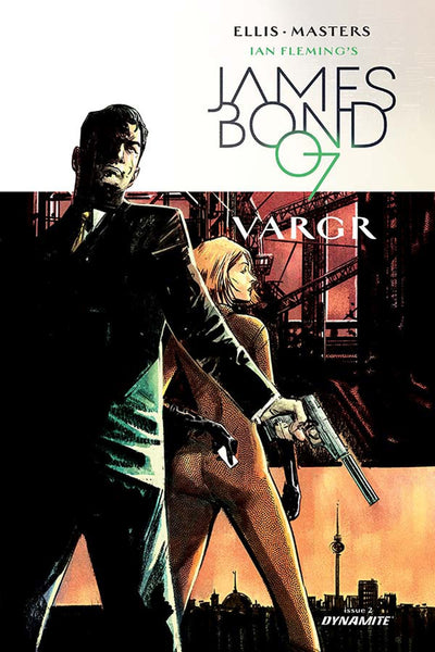 JAMES BOND #2 CVR C 20 COPY HARDMAN UNIQUE INCV.0
