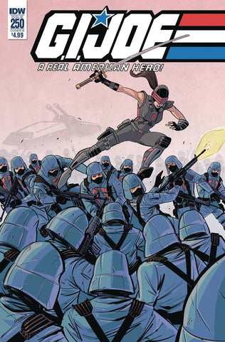GI JOE A REAL AMERICAN HERO #250 CVR B SHEARER