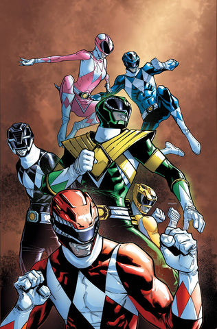 MIGHTY MORPHIN POWER RANGERS #25 UNLOCKABLE VAR