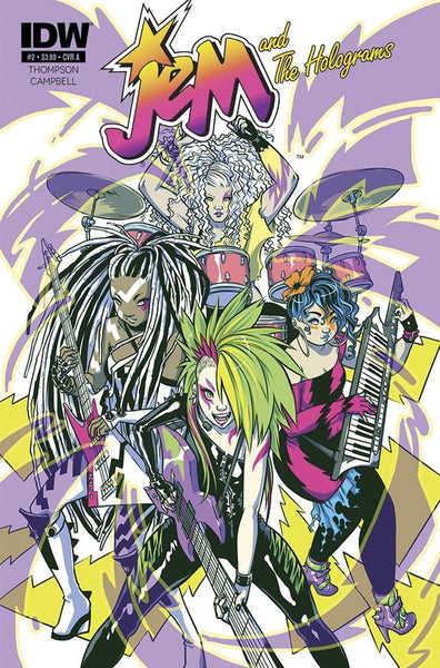 JEM & THE HOLOGRAMS #2 PLUGGED IN ED