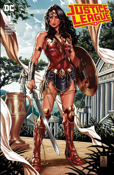 JUSTICE LEAGUE #1 MARK BROOKS EXCLUSIVE