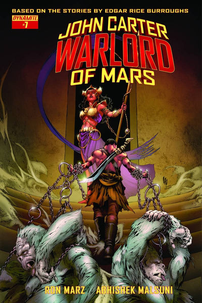 JOHN CARTER WARLORD #7 COVER D EXC SUBSCRIPTION VARIANT