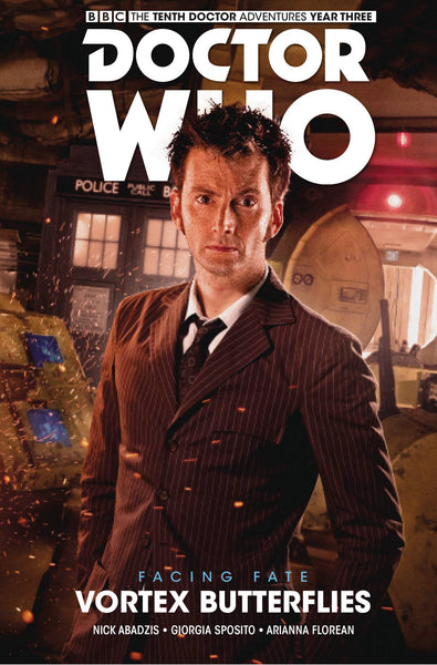 DOCTOR WHO 10TH FACING FATE HC VOL 02 VORTEX BUTTERFLIES