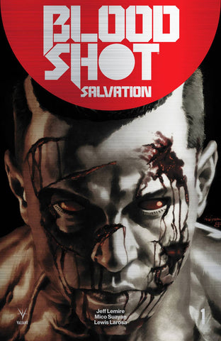 BLOODSHOT SALVATION #1 CVR G 250 COPY INCV BRUSHED METAL