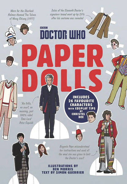 DOCTOR WHO PAPER DOLLS SC (C: 0-1-0)