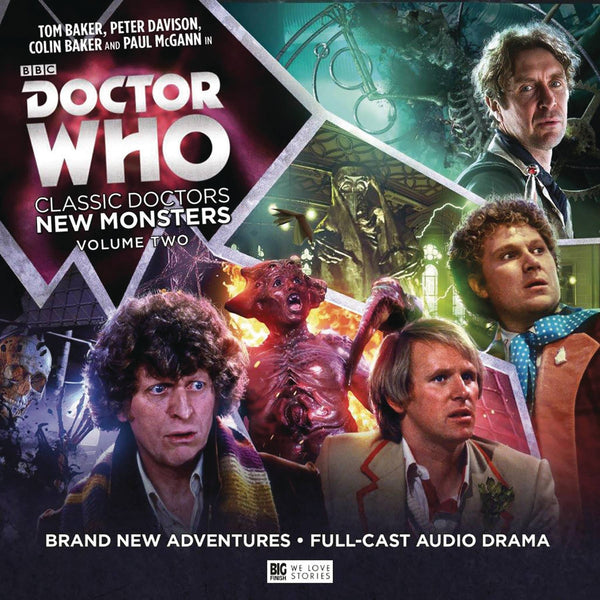 DOCTOR WHO CLASSIC DOCTORS NEW MONSTER 2 AUDIO CD (C: 0-1-0)