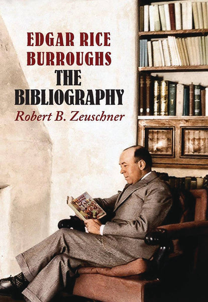 EDGAR RICE BURROUGHS BIBLIOGRAPHY DLX SIGNED ED