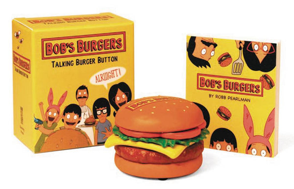 BOBS BURGERS TALKING BURGER BUTTON KIT (C: 0-1-0)