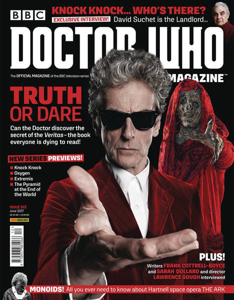 DOCTOR WHO MAGAZINE #517 (C: 0-1-2)