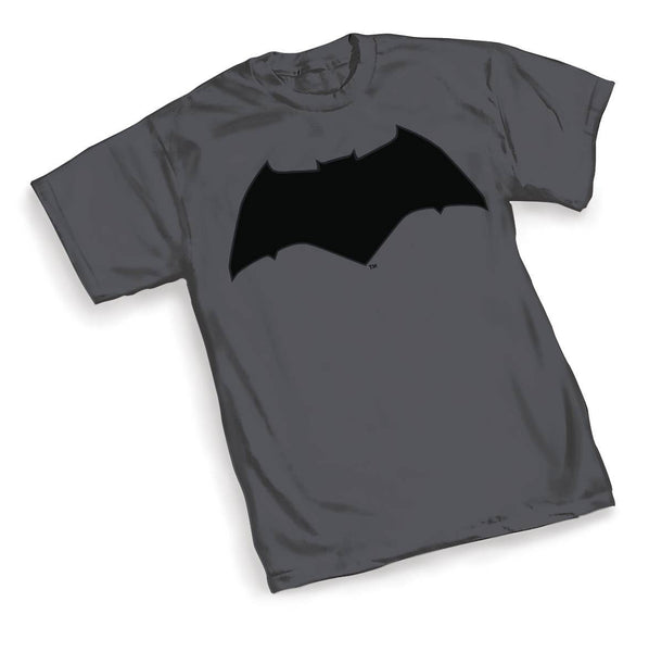 BVS BATMAN SYMBOL MENS GRAY T-SHIRT BUNDLE (C: 1-1-2)
