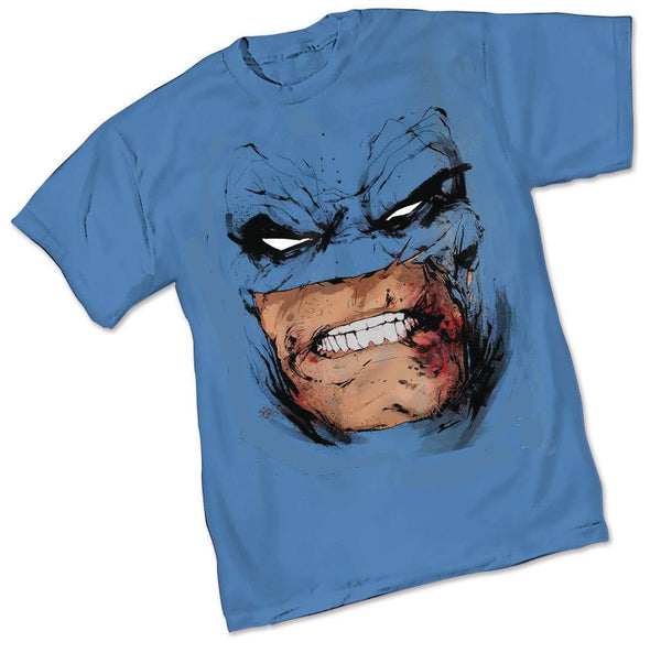 DK III BATMAN FACE MENS BLUE T-SHIRT BUNDLE (C: 1-1-2)
