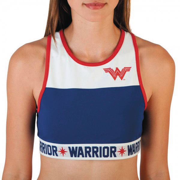 DC MOVIE WONDER WOMAN JRS SPORTS CROP TOP TANK LG (C: 1-1-2)