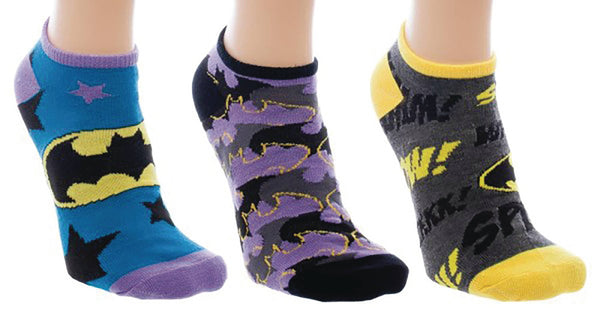 DC BATMAN 3PK ANKLE SOCKS (C: 1-0-2)