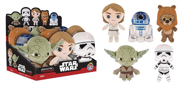 GALACTIC PLUSHIES STAR WARS CLASSIC SERIES 2 9PC PLUSH DISP
