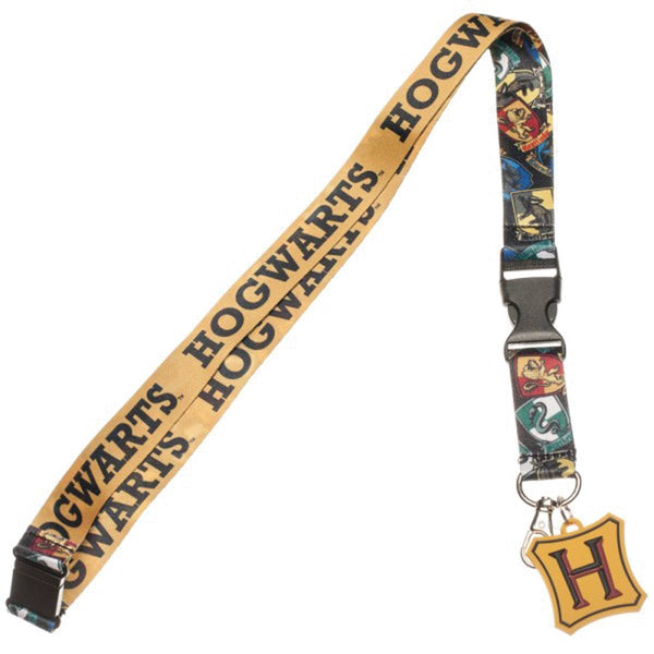 HP MARAUDERS MAP I SOLEMLY SWEAR LANYARD W/ CHARM (C: 1-0-2)