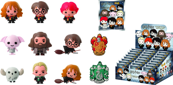 HARRY POTTER SERIES 2 LASER CUT FIG KEYRING 24PC BMB DS (C: