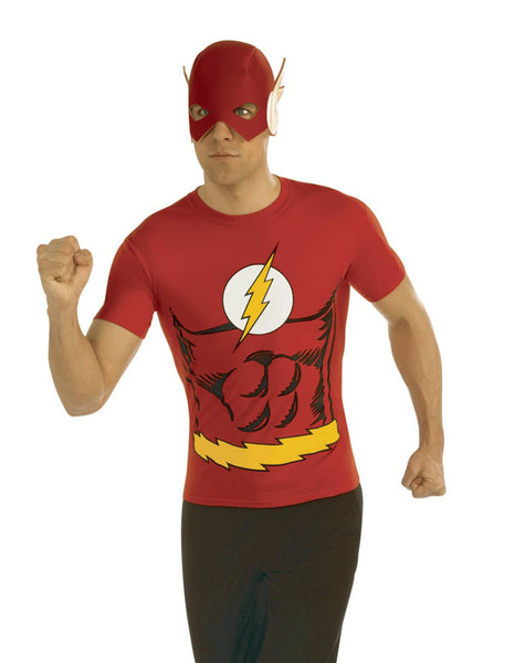 DC THE FLASH T/S W/ MASK XL (C: 1-0-2)