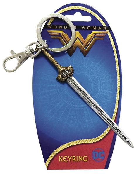 DC WONDER WOMAN MOVIE SWORD PEWTER KEYRING 6PC BAG (C: 1-0-2